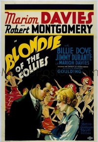 238 BLONDIE OF THE FOLLIES linen 1sheet