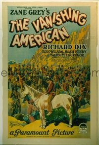 119 VANISHING AMERICAN ('25) paperbacked 1sheet