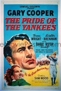 100 PRIDE OF THE YANKEES R1949, linen 1sheet