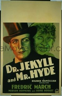 228 DR. JEKYLL & MR. HYDE ('31) WC