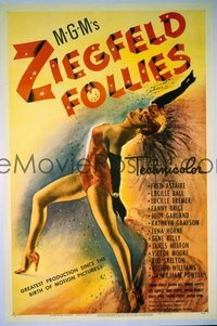 127 ZIEGFELD FOLLIES linen 1sheet