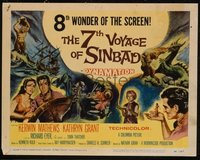 v363a 7TH VOYAGE OF SINBAD  TC '58 Ray Harryhausen
