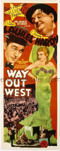 058 WAY OUT WEST ('37) UF insert