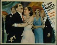 177 DUCK SOUP ('33) #4, Groucho & with girl in formal dress LC