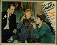 180 DUCK SOUP ('33) #7, Chico & Harpo on phone LC
