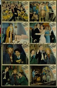 181 DUCK SOUP ('33) #8, 2 brothers with man's head in door LC