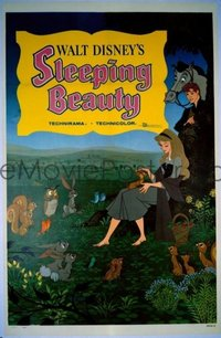 109 SLEEPING BEAUTY ('59) linen 1sheet