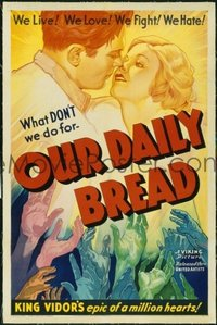 195 OUR DAILY BREAD linen 1sheet