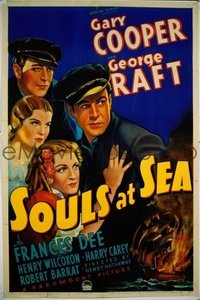 134 SOULS AT SEA linen 1sheet
