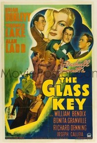 065 GLASS KEY ('42) linen 1sheet