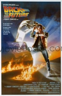v010 BACK TO THE FUTURE  1sh '85 Michael J. Fox, Drew art