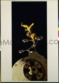 v369b 2001 A SPACE ODYSSEY #2 27x39 still '68 space walk!