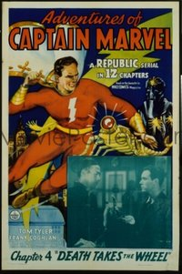 v336 ADVENTURES OF CAPTAIN MARVEL Chap 4 1sh '41 serial!