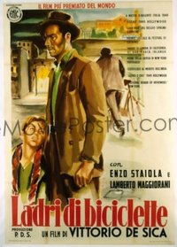 v099 BICYCLE THIEF  Italian 2p R55 Vittorio De Sica