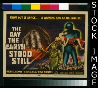 #160 DAY THE EARTH STOOD STILL classic TC '51