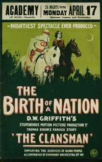 636 BIRTH OF A NATION paperbacked WC