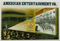 108 AMERICAN ENTERTAINMENT CO linen special poster