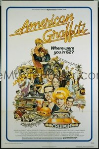 435 AMERICAN GRAFFITI 1sheet