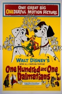 110 ONE HUNDRED & ONE DALMATIANS linen 1sheet