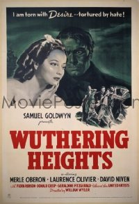 129 WUTHERING HEIGHTS ('39) 1sheet
