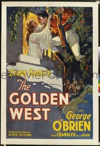 069 GOLDEN WEST paperbacked 1sheet