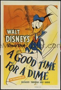 138 GOOD TIME FOR A DIME linen 1sheet