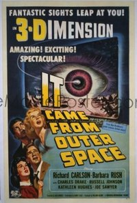 327 IT CAME FROM OUTER SPACE 1sheet