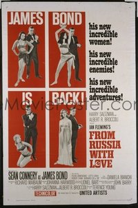 010 FROM RUSSIA WITH LOVE style B 1sheet