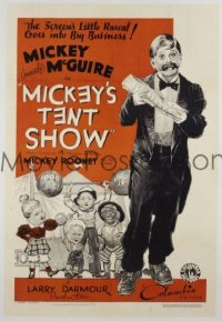 MICKEY'S TENT SHOW 1sheet