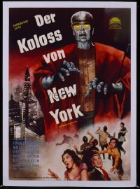 COLOSSUS OF NEW YORK German