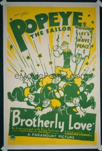 BROTHERLY LOVE ('36) 1sheet