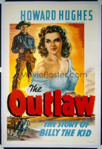 OUTLAW ('46) 1st release style A 1sheet