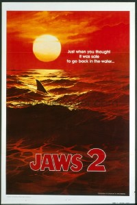 JAWS 2 red sea teaser 1sheet