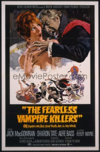 FEARLESS VAMPIRE KILLERS full-color artwork 1sheet