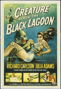 CREATURE FROM THE BLACK LAGOON 1sheet