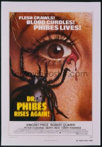DR. PHIBES RISES AGAIN 1sheet