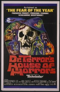 DR. TERROR'S HOUSE OF HORRORS ('65) 1sheet