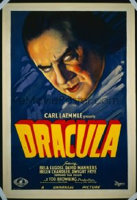 DRACULA ('31) floating head style 1sheet