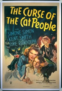 CURSE OF THE CAT PEOPLE 1sheet