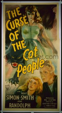 CURSE OF THE CAT PEOPLE 3sh