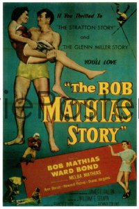 287 BOB MATHIAS STORY 1sheet 1954