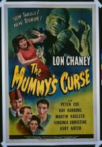 MUMMY'S CURSE 1sheet