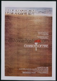 288 CHARIOTS OF FIRE 1sheet 1981
