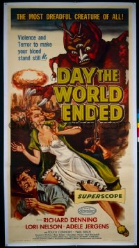 DAY THE WORLD ENDED ('56) 3sh