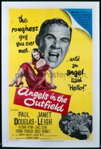 063 ANGELS IN THE OUTFIELD ('51) 1sheet 1951
