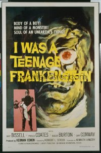I WAS A TEENAGE FRANKENSTEIN 1sheet