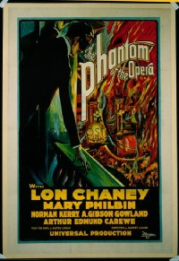 PHANTOM OF THE OPERA ('25) flames style 1sheet