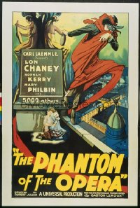 PHANTOM OF THE OPERA ('25) shrieking style 1sheet