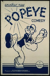 ANOTHER NEW POPEYE COMEDY ('39) stock stock 1sh
