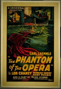 PHANTOM OF THE OPERA ('25) underwater style 1sheet